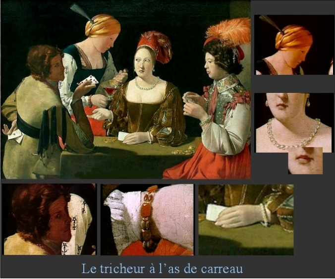 GEORGES de la TOUR-Montage carreau