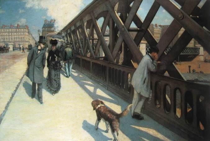 Gustave CAILLEBOTTE-Le pont de l'Europe