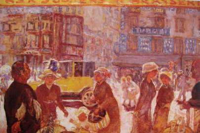 Bonnard-La place Clichy-li