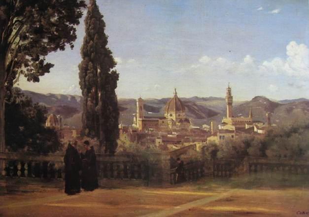 C-COROT - Florence jardins Boboli-li