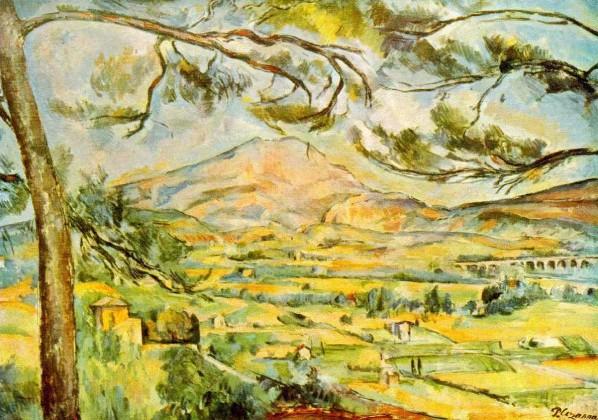 cezanne Mt Ste Victoire 1885