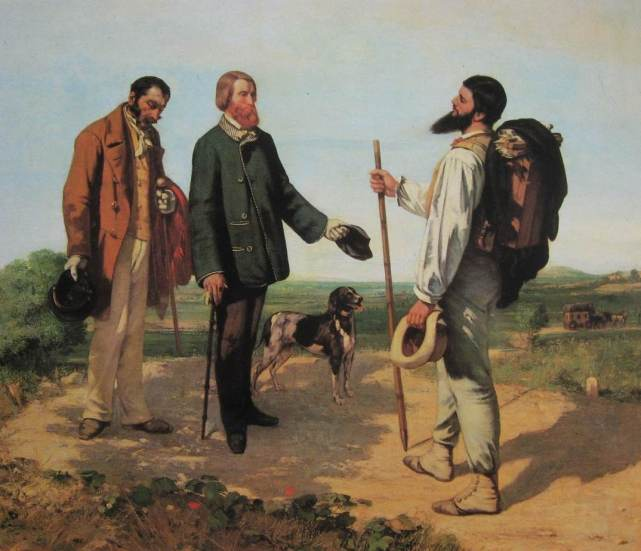 Courbet-Bonjour monsieur Courbet-li