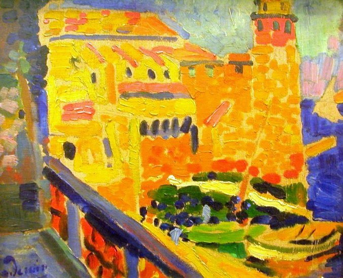 DERAIN-Le port de collioures