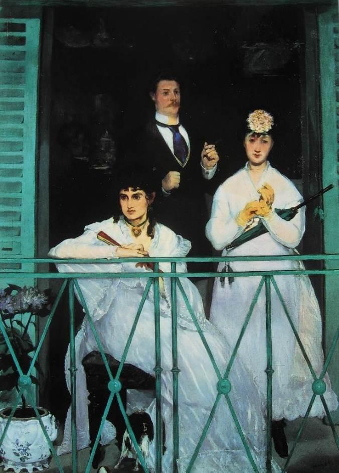 Edouard MANET-Le balcon-li