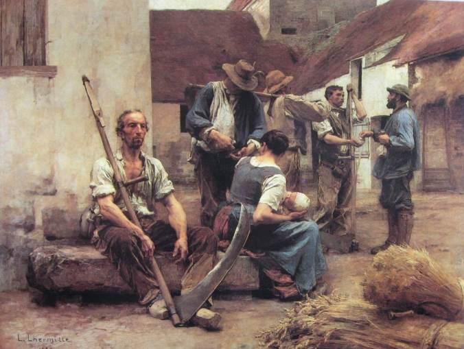 LHERMITTE- La paie des moissonneurs-lili