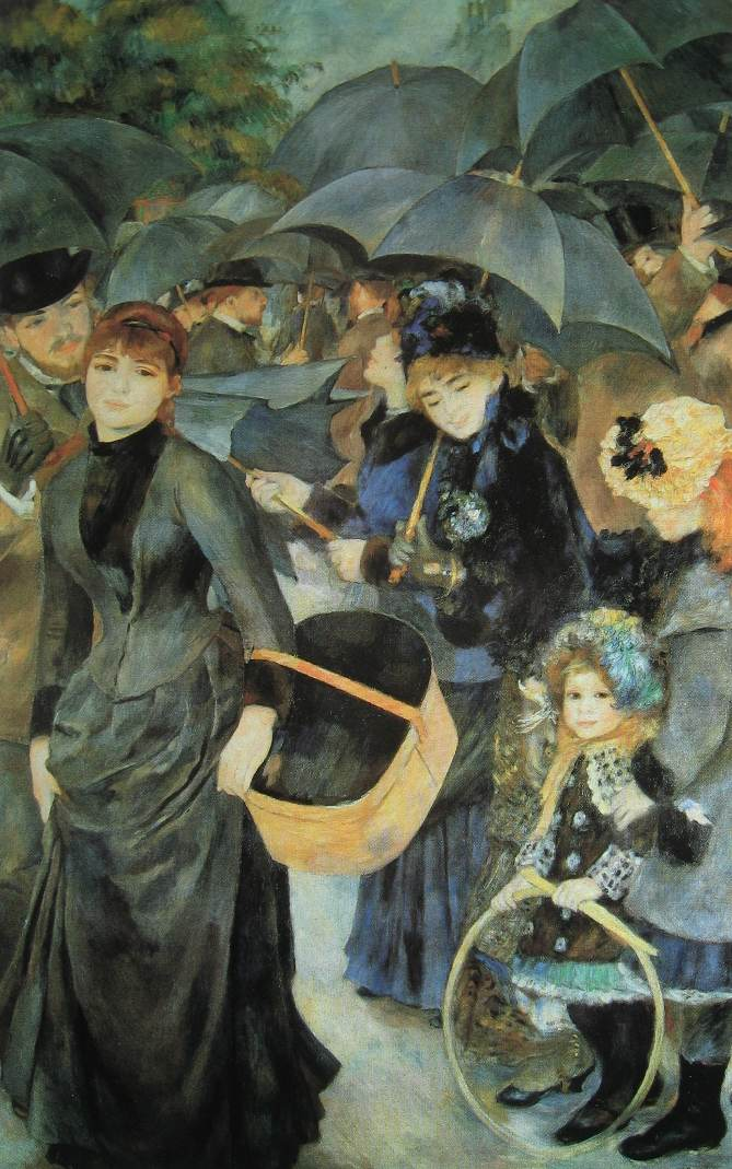Renoir-Les parapluies-li