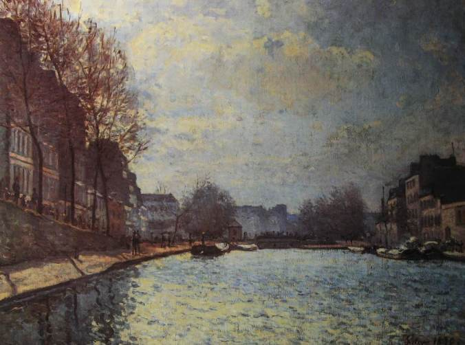 Sisley-Vue du Canal St Martin-li