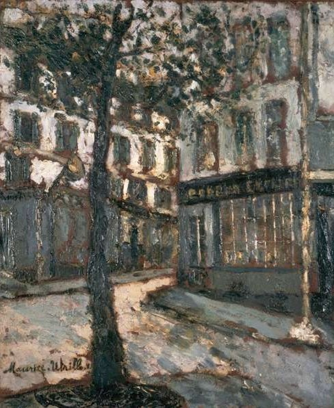 UTRILLO-Place des Abesses