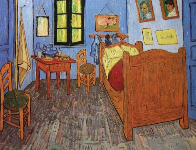 VAN-GOGH-la chambre à Arles-li