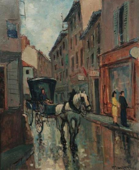 Montet- Cheval de ville