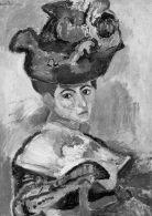 Femme_au_Chapeau-1905-NB