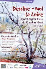 AFFICHE light Dessine-moi la Loire