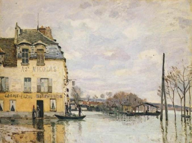 Sisley-Inondation - Port Marly