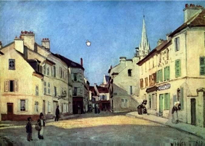 SISLEY-Place d Argenteuil