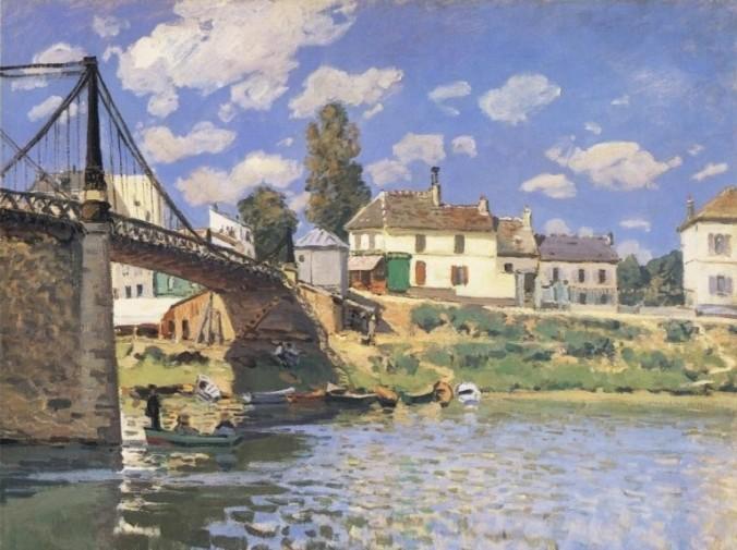 SISLEY-Pont de Villeneuve la Garenne