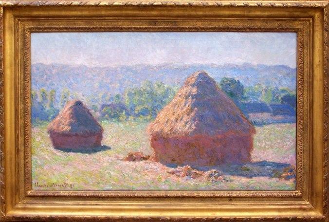Meules de foin - Fin de l'été, effets du matin - 1890