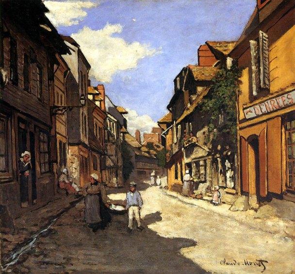 Rue de la Bavolle- Honfleur - 1864