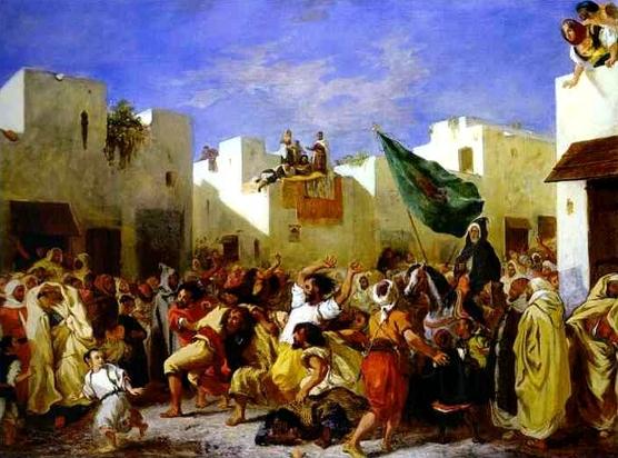 DELACROIX-Fanatiques de Tanger