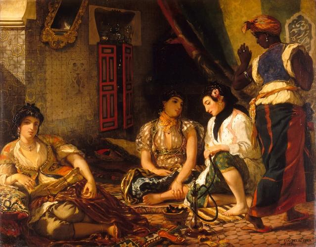 DELACROIX-Femmes d-Alger