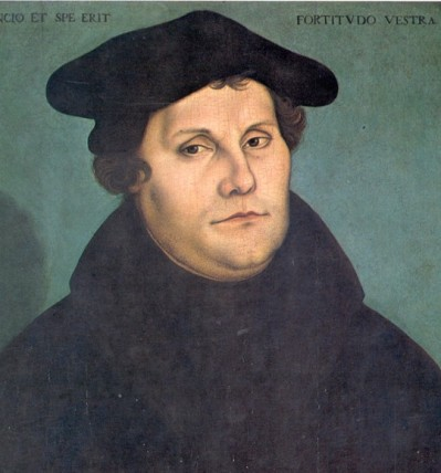 Cranach-Martin Luther