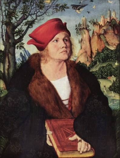 Lucas_Cranach_Johannes Cuspinien