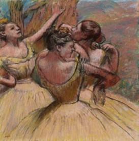 DEGAS-3 danseuses -blight