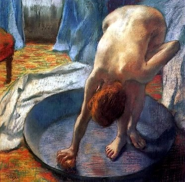 Edgar-Degas-Le Tub-light