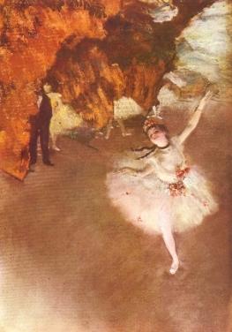 Edgar Degasl-etoile-light