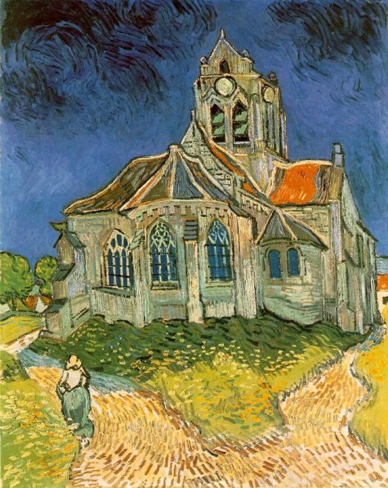 Vangogh-Eglise auvers sur oise