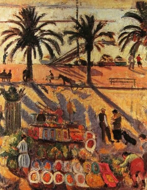 Le marché à Sanary
