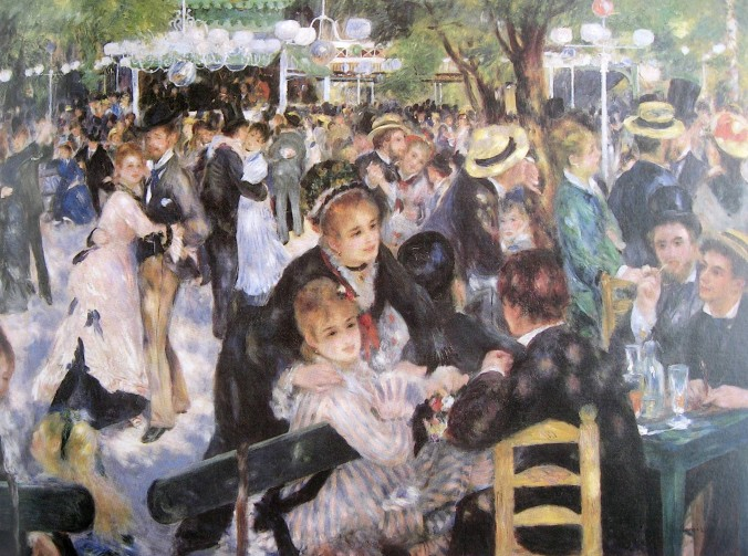 Renoir-Bal du moulin de la Galette-1876