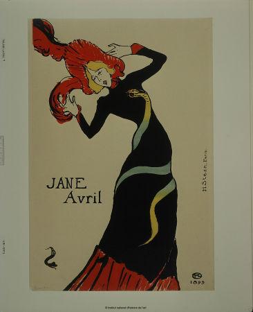 Jane Avril - Estampe