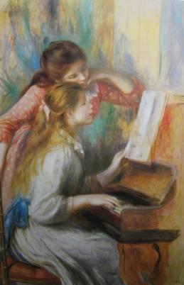Jeunes filles au piano-1892