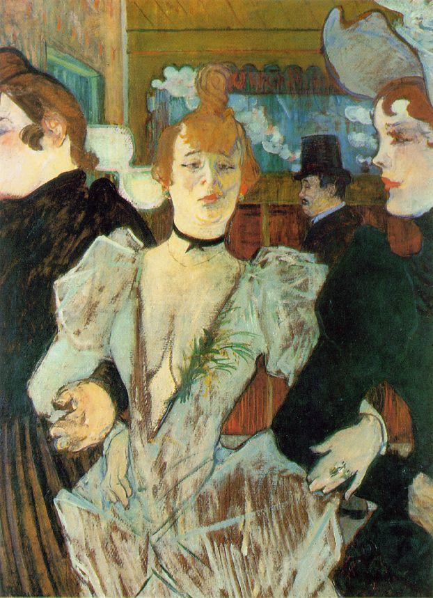 La goulue et deux femmes