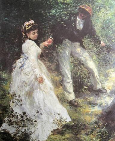 Renoir-La promenade - 1870