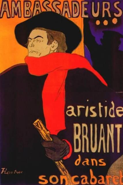 LAUTREC-Aristide Bruant