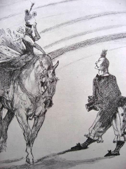 LAUTREC-Le clown Footit - 1899