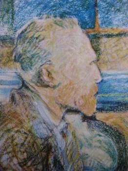 LAUTREC-Portrait de Vincent Van Gogh