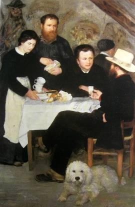Renoir-Le cabaret de la mere Antony- 1866