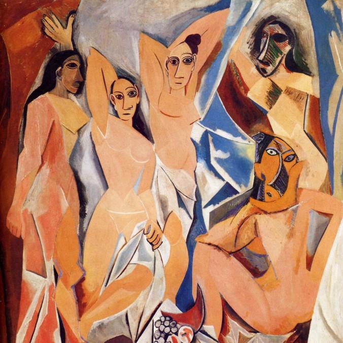 PICASSO-les-demoiselles-avignon-1907