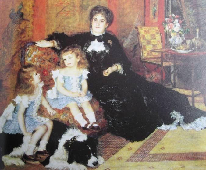 Renoir-Madame Charpentier et ses enfants- 1878