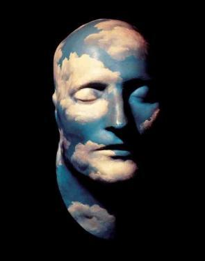 Magritte, Kopf(L'avenir des statues)