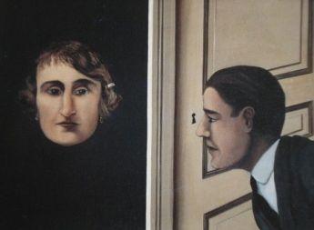 MAGRITTE-L'Espion, 1928