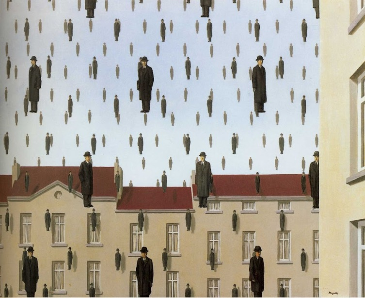 Magritte_Golconde
