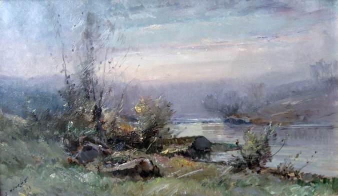 NOIROT-Le matin - Villerest-1903