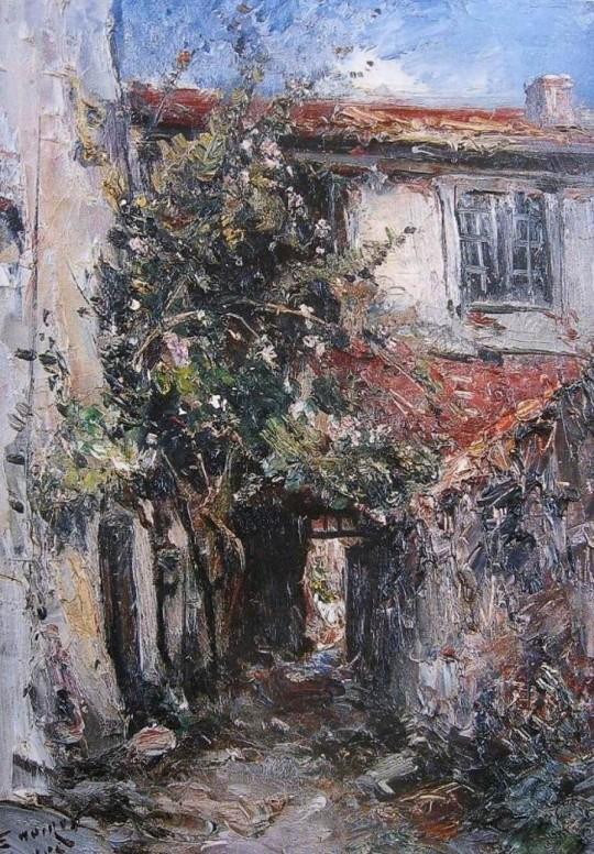 NOIROT-Mon rosier Villerest-1906-l