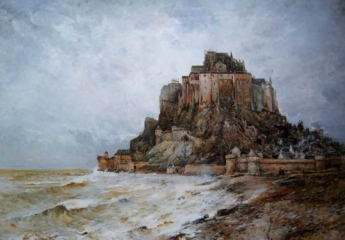 Noirot-Mont Saint-Michel - 1896 (Salon des Artistes français 1896)