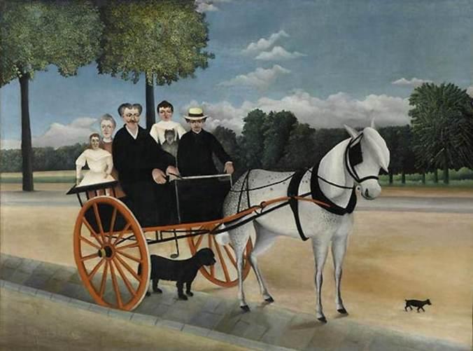 Rousseau-la carriole du père Juniet-l