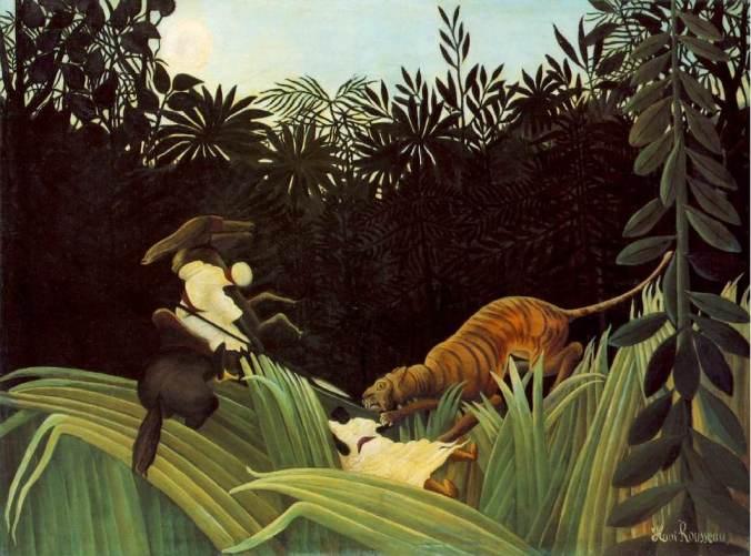 rousseau_eclaireur attaqué par un tigre-l