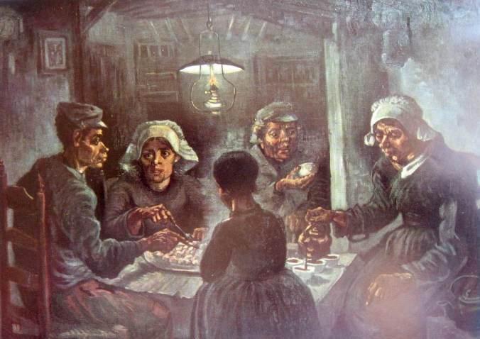 Van gogh-Les mangeurs de pommes de terre